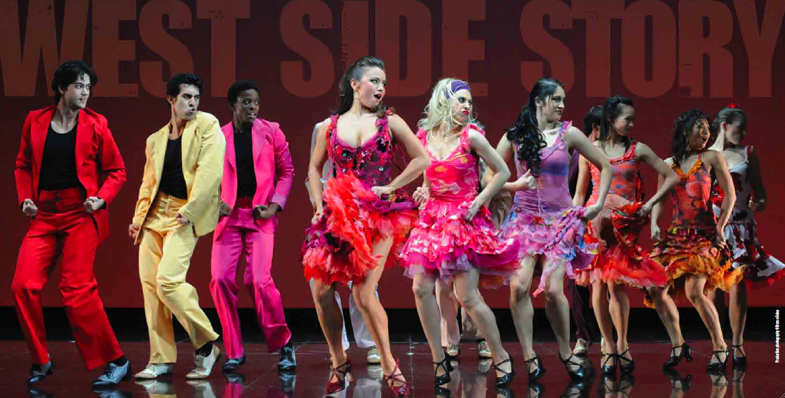 Alinta Chidzey playing lead role in West Side Story