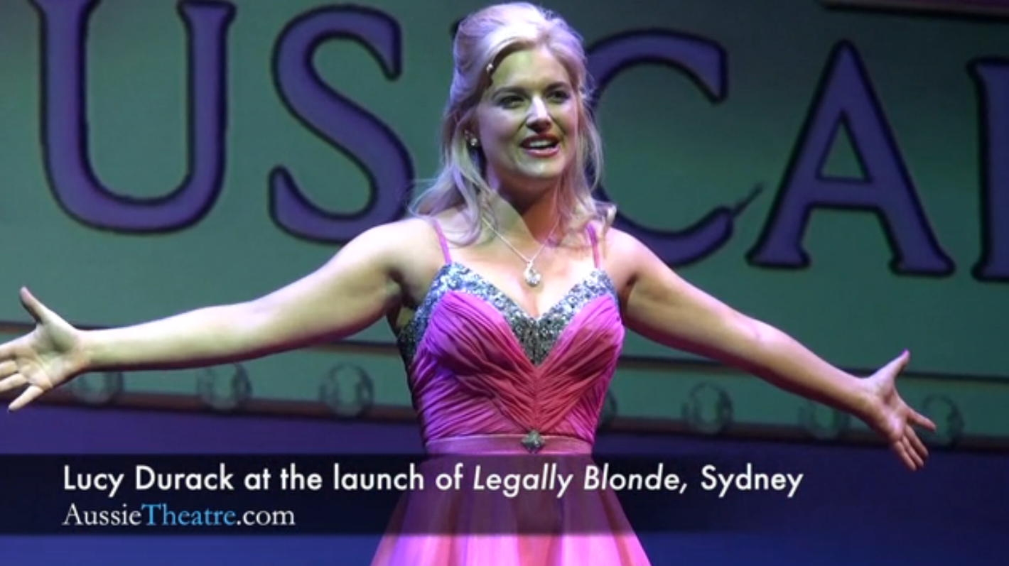 Lucy Durak as Elle Woods In Legally Blonde